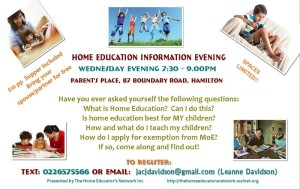 Hamilton Information Evening Nov13